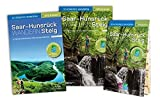 Saar-Hunsrück-Steig - Start-Set mit den offiziellen Wanderführern und Extra-Faltkarte für die neue Trasse. Geprüfte GPS-Daten und Smartphone-Anbindung.