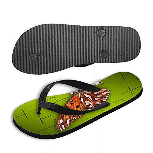 vari e sandali farfalla Thikin stili colori brown1 spiaggia sandali donna infradito stampa ragazza carino estate da infradito 0wUUq7x6AF