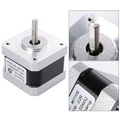 XCSOURCE® Nema 17 2 Phase 4-Kabel 1.8° Schrittmotor 42 x 42 * 34mm für 3D Drucker TE225