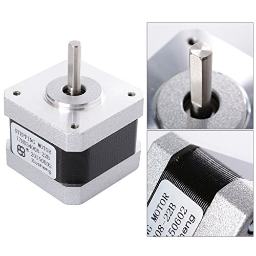 XCSOURCE Nema 17 2 Phase 4-Wire 1.8 degree Stepper motor 42 x 42 x 34mm For 3D Printer TE225 Test