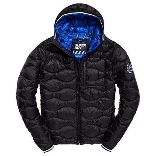 Superdry Wave Quilt Jacket Black (L) -