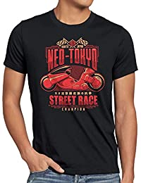 style3 Neo Tokyo Racing T-Shirt Homme akira anime manga
