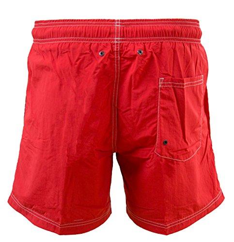 STRELLSON Herren Badeshorts Boardshorts Strandshorts Shorts Badehose FARBWAHL Rot
