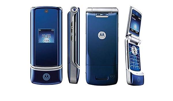 motorola krzr k1 retro unlocked flip mobile phone amazon in rh amazon in