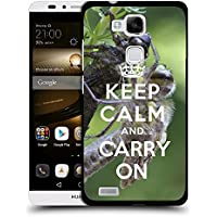 Print Motif Coque de protection Case Cover // Q01013403 keep calm and carry on 620 // Huawei Ascend Mate 7