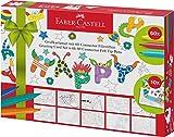 Faber-Castell 155559 - Grußkarten Set mit 60 Connector Filzstiften mehrere Farben