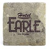 Barton Fink: Hotel Earle azulejos de la bebida práctico de costa del (sombra de plata)