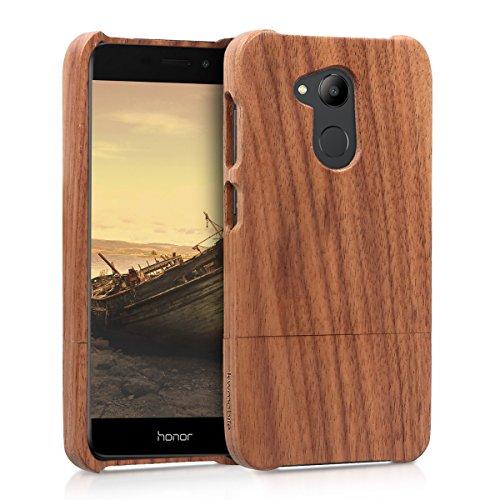 kwmobile Huawei Honor 6C Pro Hülle - Handy Schutzhülle aus Holz - Cover Case Handyhülle für Huawei Honor 6C Pro