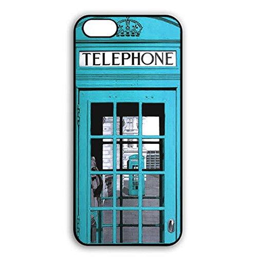 Iphone 7 plus Case,Fantasy Premium British Phone Booth Phone Case Cover for Iphone 7 plus Phone Booth Shell Cover Color054d