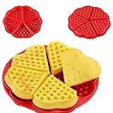 In silicone di qualità waffle muffin torta muffa cioccolato Bakeware cucina strumento di cottura