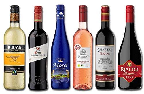 Langguth Erben Weinpaket Internationale Weinreise (6 x 0.75 l)