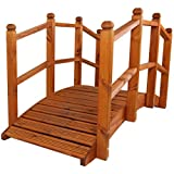pont de jardin en bois de 1 5 m de long jardin. Black Bedroom Furniture Sets. Home Design Ideas