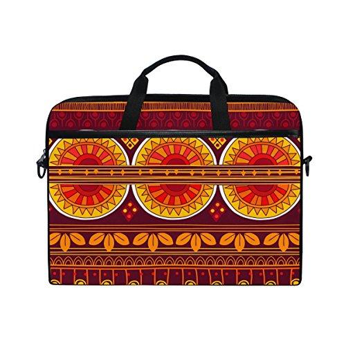 Ahomy Africa Art Nation Custom-Multifunktionale Laptoptasche/Aktentasche / Messenger Bag für 14-15,4 Zoll (35,6-39,62 cm)