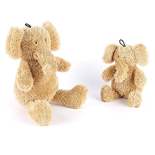 Buster & Beau Eddie Elefant Hundespielzeug, klein