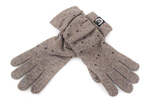 guanti-donna-gianmarco-venturi-taupe-taglia-unica-applicazione-borchie-l1530