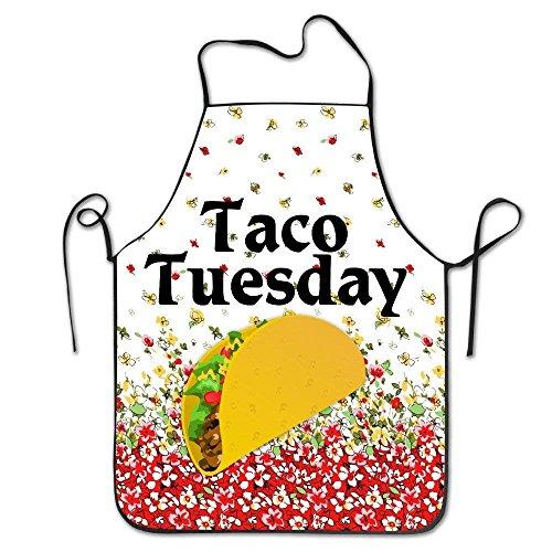 Taco Tuesday Design BBQ Kitchen Cooking Apron red - Taco Mann Kostüm