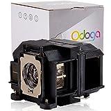 #10: Odoga Epson ELPLP67 V13H010L67 VS210 VS220 VS310 VS320 Compatible Projector Lamp
