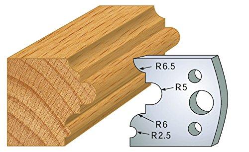 Preisvergleich Produktbild 036: Spiel 2-Eisen Multi Astragalus HT 40 mm für Porte Outils entr' Achse Gummiknopf 24 mm