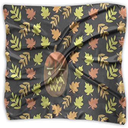 Square Scarf Halloween Dark Castle Witch Handkerchief Unisex Handkerchief Tie For Man (Für Schurken Halloween)