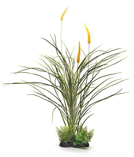 Pistachio Pet super-tall Schöne Realistische Aquarium Pflanze mit Sockel 50,8cm/52cm - Pflanzen Aquarium Realistische