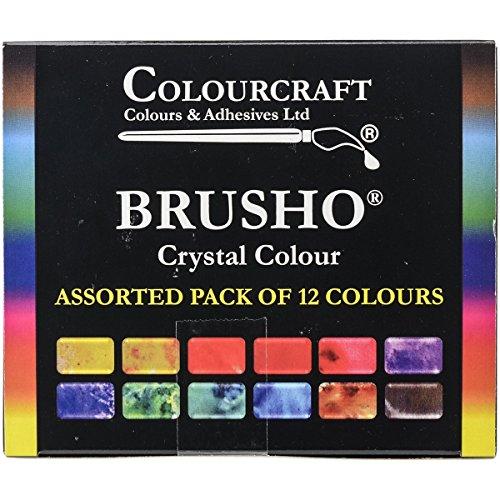 Brusho by Colourcraft Farben-Set