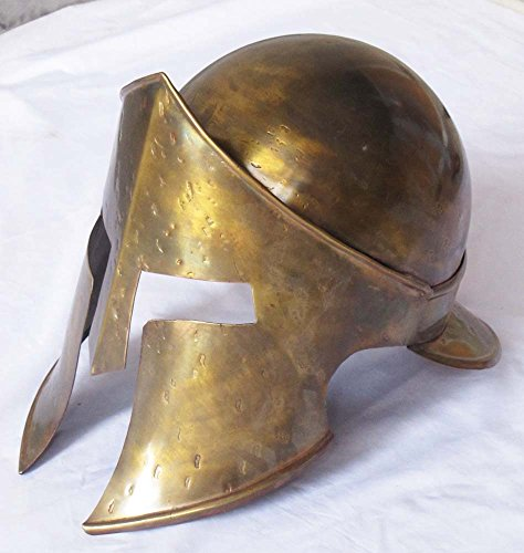 Helm 300 Kostüm - Shiv (TM Shakti Unternehmen Mittelalter Sparta King Spartan Helm 300Movie Helm Halloween-Kostüm tragbar