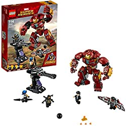 LEGO Super Heroes Avengers Set Costruzioni - Duello con l'Hulkbuster, 76104