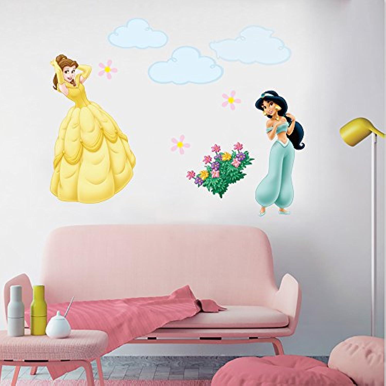 Stickers muraux Kibi Stickers Muraux Princesses Disney ...
