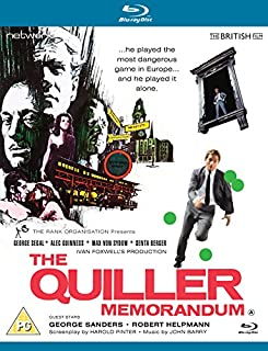 The Quiller Memorandum [Blu-ray] (B00I7T0038) | Amazon price tracker / tracking, Amazon price history charts, Amazon price watches, Amazon price drop alerts