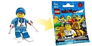 LEGO Figurines à Collectionner: Ski Alpin Mini-Figurine (Série 2) (Dans Un Sac)