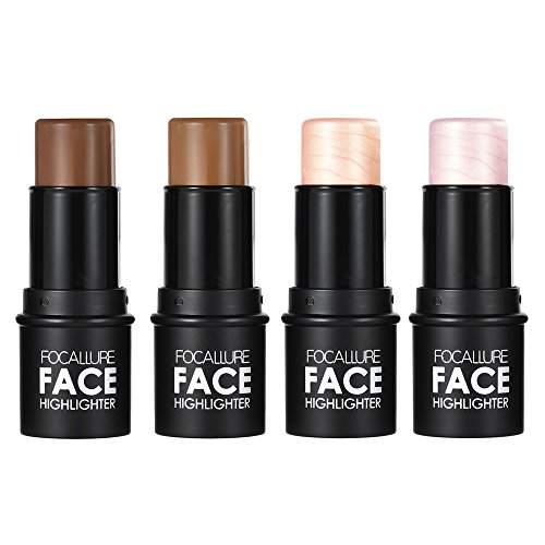 Anself 4 Farben Highlighter Highlight Stick Make-up-Stick Concealer Powder (Highlight Make Up Sticks)