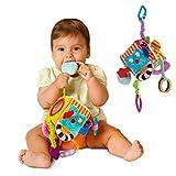 FYGOOD Babyspielzeug Activity - Würfel mit C - Ring wie Bild 10cm