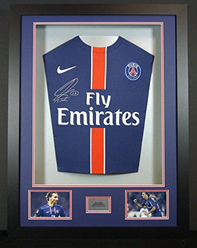 Ibrahimovic-Paris-St-Germain-Signed-Shirt-3D-Framed-Display-with-COA