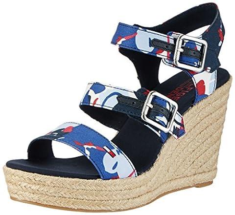 Chaussures Hilfiger Denim - Tommy Hilfiger L1385una 3d2, chaussures compensées femme