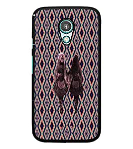 PrintDhaba Ghost Twins D-3186 Back Case Cover for MOTOROLA MOTO G2 (Multi-Coloured)
