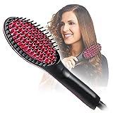 Simply Straight Hair Straightner (Brush Style)