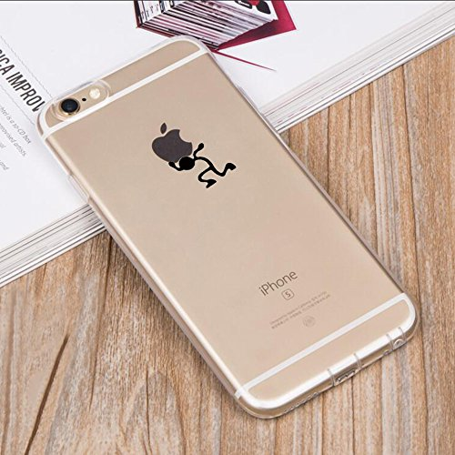 iPhone 6 Plus Case Cover Qissy® TPU iPhone 6 PLUS/ 6s Plus 5.5 Custodia coperchio trasparente per la copertura della cassa silicone Back cover Per Apple i Phone 6plus/6S plus 3