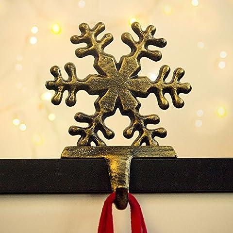 Chaussette de Noël Cintre Crochets support Heavy fer Décoration de Noël Ornement Décor