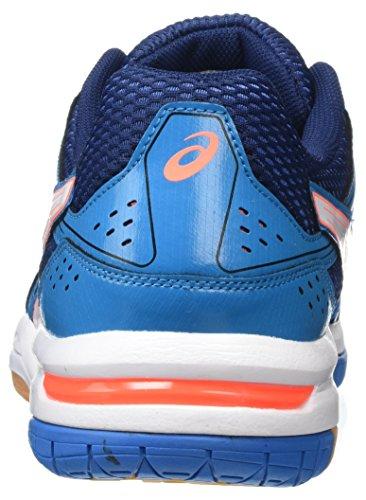 Asics Gel-Rocket 7, Scarpe da Pallavolo Donna Multicolore (Blue Jewel/White/Flash Coral)