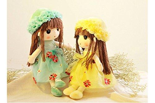 Preisvergleich Produktbild Best Xinlong Babypuppe - Kleine Liebe - Lovely Sister 2 in einer Packung (45 cm)