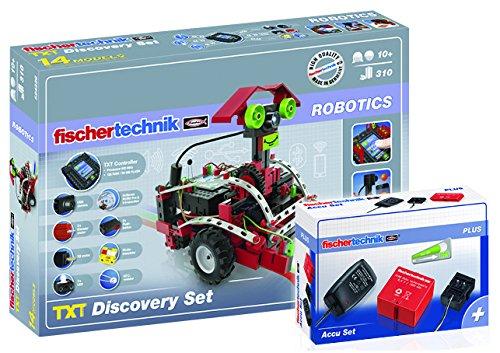 Fischertechnik 530857 - Paket TXT Discovery und Accu Set