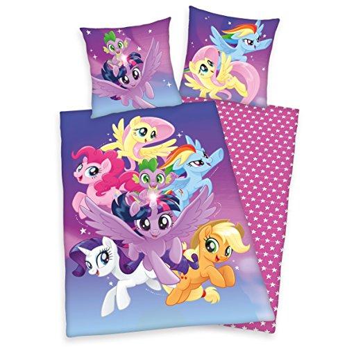 Herding Bettwäsche-Set My Little Pony, Baumwolle, Lila, 200 x 140 cm