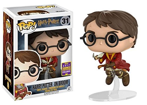 Funko POP - Harry Potter sobre Broom