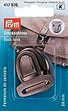 Prym 417976 Steckschloss 26 mm, altsilber