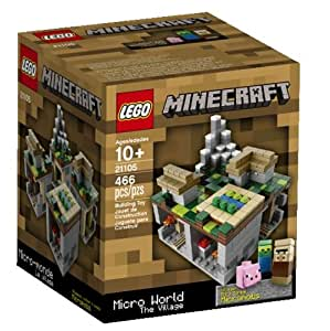Lego Minecraft Micro World Micro Village 21105