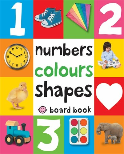 Numbers, Colours, Shapes: First 100 Soft To Touch (Soft to Touch Board Books) por Roger Priddy