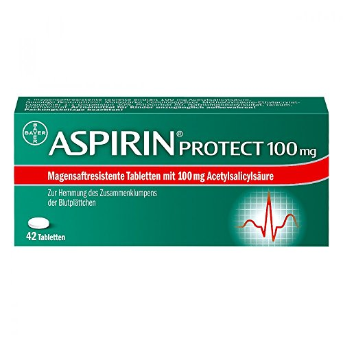 Aspirin protect 100 mg Tabletten, 42 St.