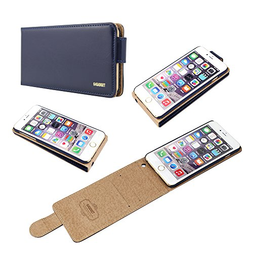 paramount-quality-quality-iphone-5c-navy-blue-leather-flip-case-cover-with-two-card-slot-for-apple-i