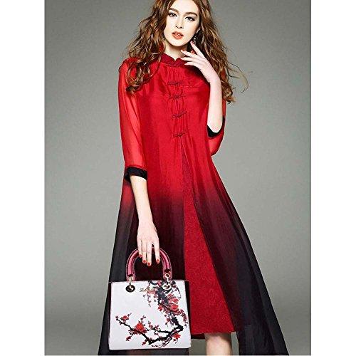(G-AVERIL) donne pell Borsa a mano Borsa a tracolla Corpo trasversale Sacchetto di Tote Sacchetto di rosso