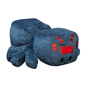 Minecraft 8751 Jinx Happy Explorer Cave Spider Peluche de Felpa, Azul, 7 Pulgadas